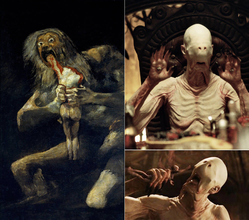 Pan's Labyrinth and Goya